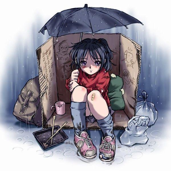【切ない】貧乏女子の泣ける二次画像【8】