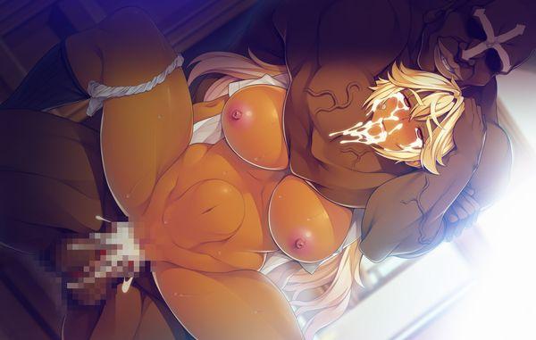 【筋肉】ボディービルダーみたいな体した筋肉質な褐色女子の二次エロ画像 【31】