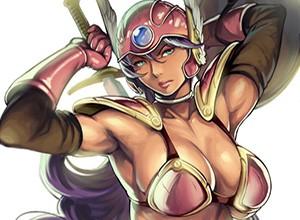 【DQMJ3発売記念】ジョーカー3の発売を記念してドラゴンクエスト女戦士のエロ画像