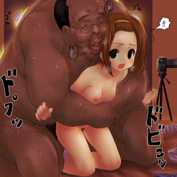 【定番の組み合わせ】汚いおっさんと美少女の二次エロ画像 【23】