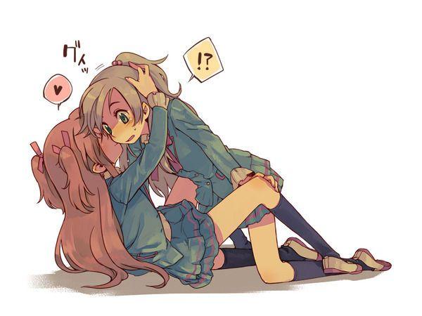 【ソフトレズ】抱き合ってる女子の二次エロ画像【31】