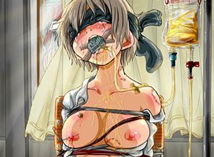 【尿道責め】普通に痛そう・・・尿道を弄られる女子達の二次エロ画像