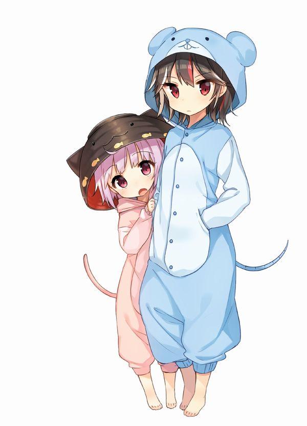 【多分パジャマ】着ぐるみ着てる女子達の二次エロ画像 【30】