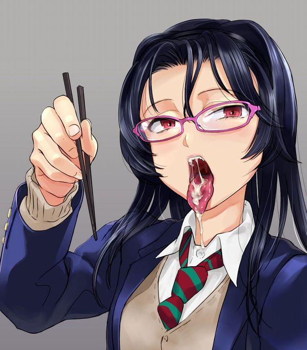 【しゃぶってあげようか?】舌出してる女子の二次エロ画像 【1】
