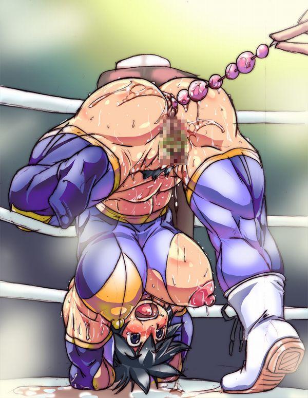 汗臭そうな筋肉女子の二次エロ画像 【4】