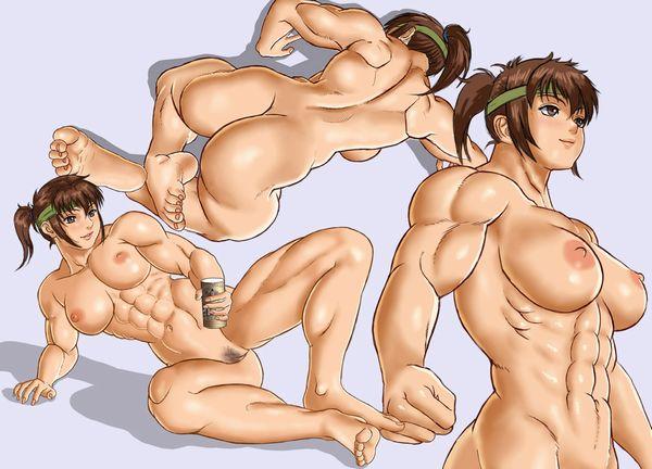 汗臭そうな筋肉女子の二次エロ画像 【6】