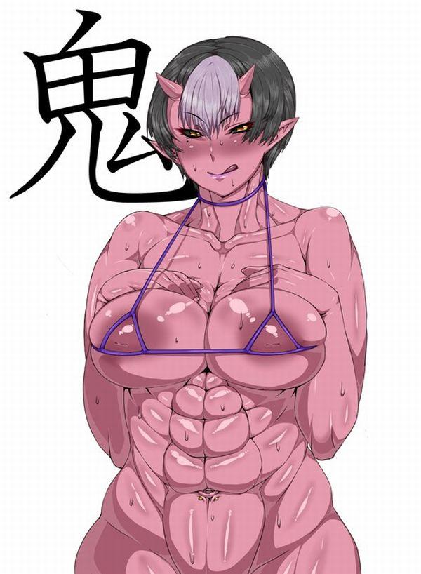 汗臭そうな筋肉女子の二次エロ画像 【10】