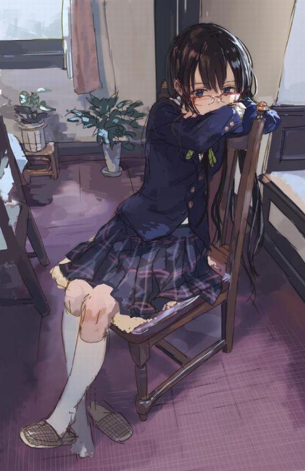【昭和の遺物】拘束の厳しい私立高校位でしか見かけない白ハイソックスを履いた女子高生の二次画像 【25】