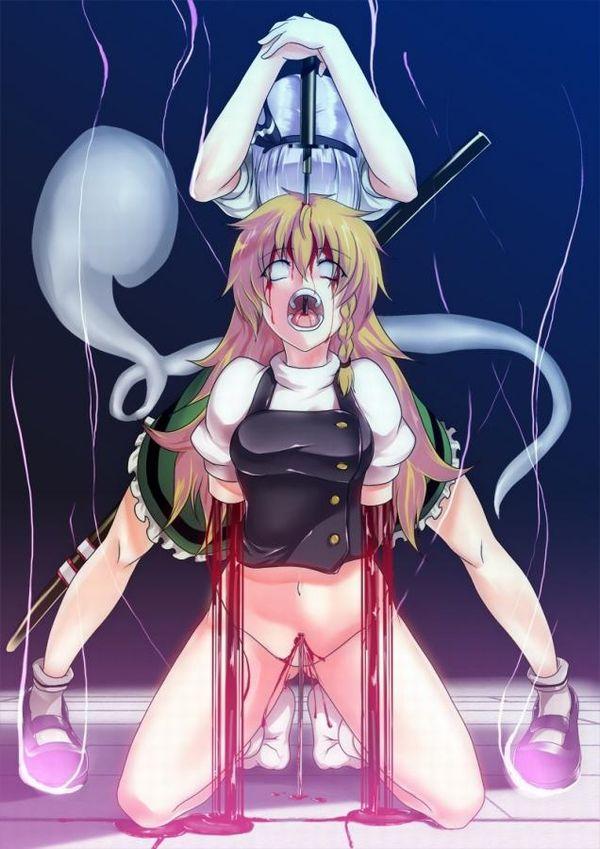 【百合?】同姓には容赦ない・・・女同士の拷問リョナ画像 【17】