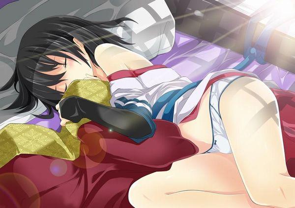 【これは据え膳】寝てる女の子の二次画像 【4】