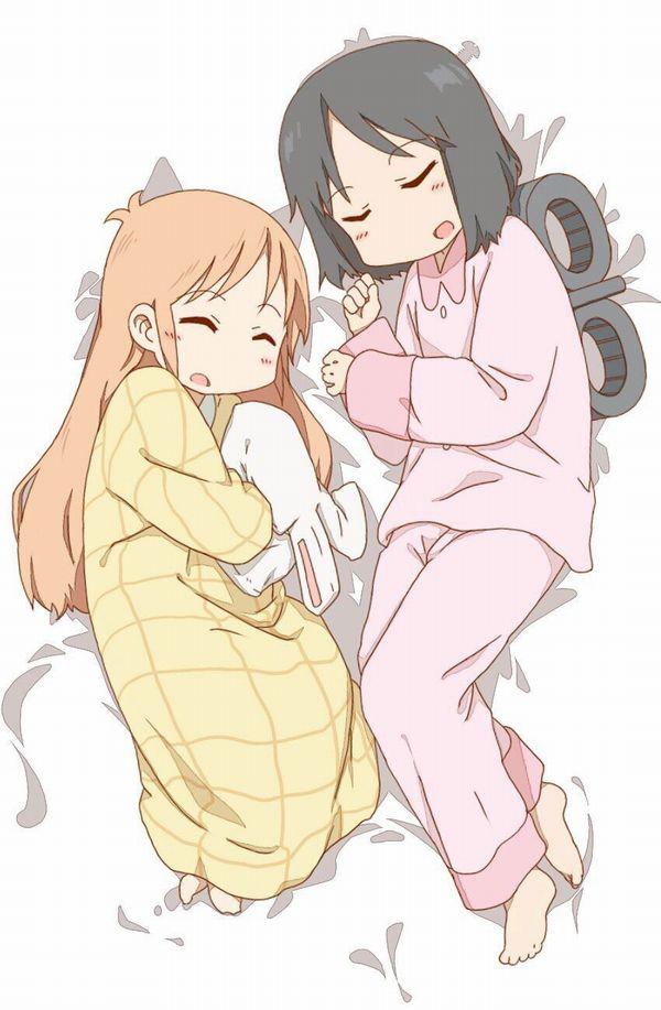 【これは据え膳】寝てる女の子の二次画像 【10】