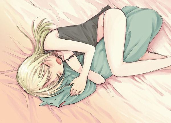 【これは据え膳】寝てる女の子の二次画像 【30】
