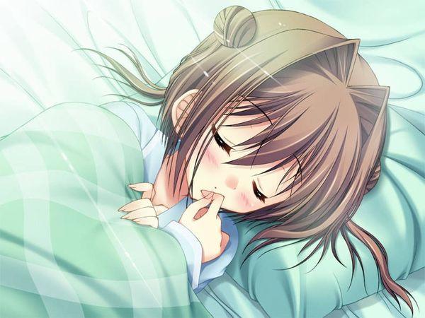 【これは据え膳】寝てる女の子の二次画像 【35】