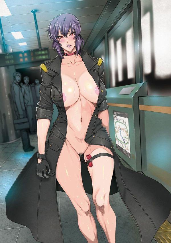 【伝統】「コートの下は裸」そんなクラシカルスタイルで野外露出する二次エロ画像 【14】