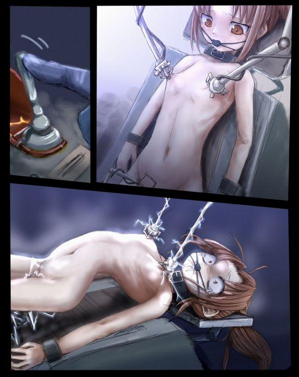 【リョナ】「拷問は任せろー」バリバリバリ『やめて!』電気系の拷問されてる女子達の拷問系二次エロ画像 【31】