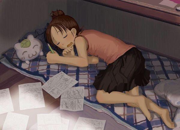 【悪戯・睡眠姦有り】涎垂らして寝てる女の子の二次画像 【7】