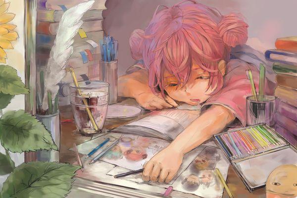 【悪戯・睡眠姦有り】涎垂らして寝てる女の子の二次画像 【18】