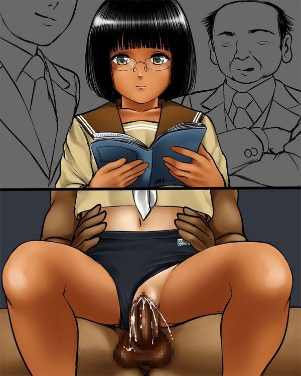 【マグロ、ご期待ください!】無反応な女子の二次エロ画像 【16】