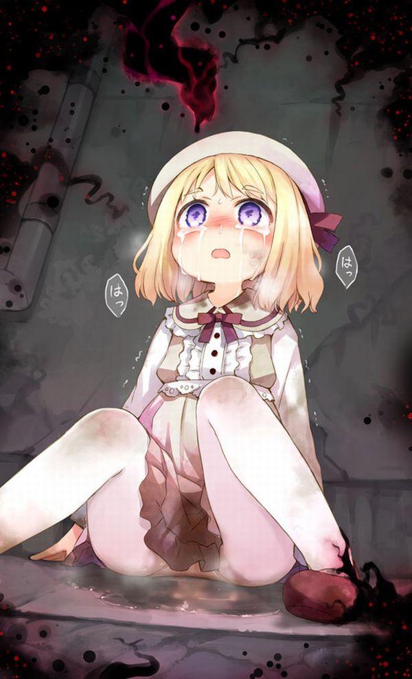 【レイプか】恐怖で失禁してる闇の深そうな二次エロ画像【拷問か】 【1】