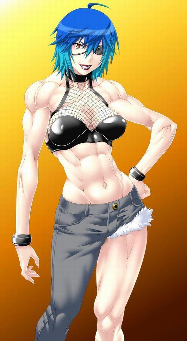 嘘喰いのエロ画像探したけど無かったので・・・亜面真琴立会人みたいな体した筋肉女子の二次エロ画像 【8】