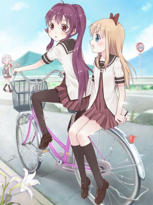 【日常風景】家が少し遠いから・・・自転車通学してる女子高生の二次画像 【6】
