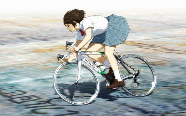 【日常風景】家が少し遠いから・・・自転車通学してる女子高生の二次画像 【16】