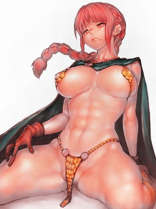 【筋肉女子】腹筋が物凄い割れ方してる女子達の二次エロ画像 【29】