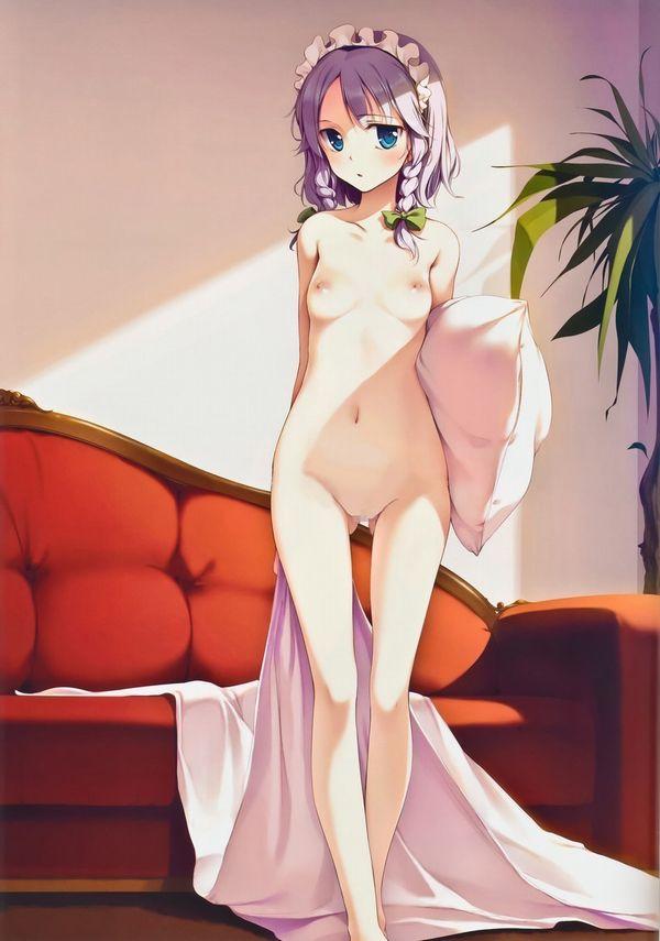 【プレイかな?】全裸で立たされて恥ずかしそうにしてる二次エロ画像 【18】