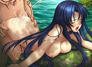 【もう何も恐くない】野外なのに全裸になってセックスしてる男女の青姦二次エロ画像