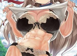 【筋肉女子】腹筋が物凄い割れ方してる女子達の二次エロ画像