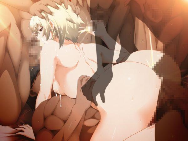 【三穴姦】全部の穴にチンコが挿入されてる乱交二次エロ画像【33】