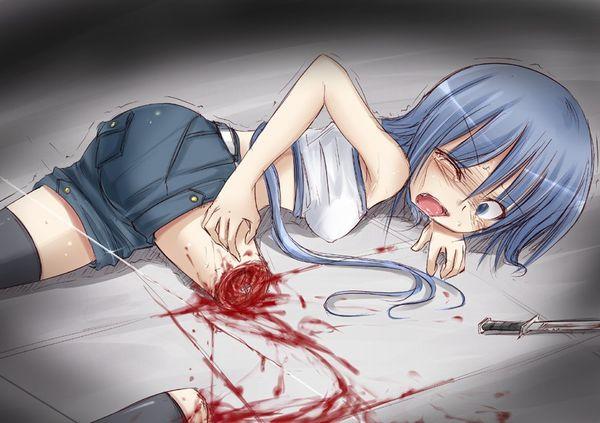 【エグゾディア】女の子が四肢切断されてる真っ最中な二次グロ画像【8】
