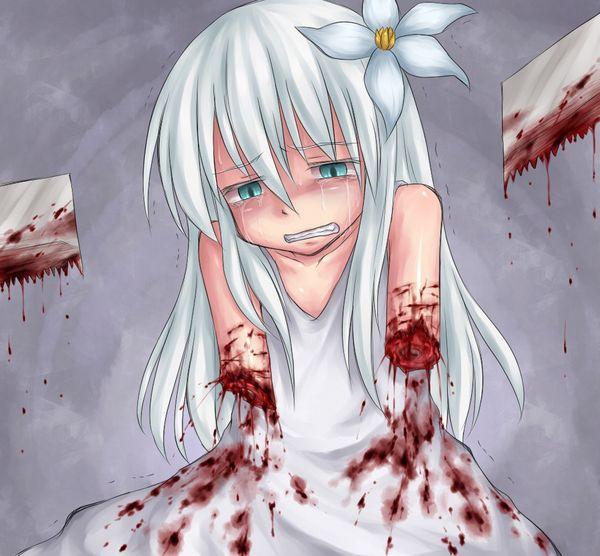 【エグゾディア】女の子が四肢切断されてる真っ最中な二次グロ画像【17】