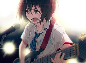 【Rock】ギター弾いてる女の子達の二次画像