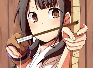 【部活】女子弓道部の袴がそそる二次エロ画像
