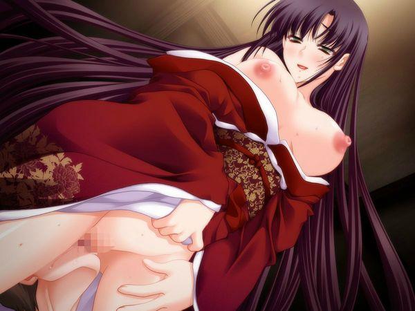 【着物・和服】江戸時代の人ってこんな感じでセックスしてたのかなぁ?って二次エロ画像 【17】