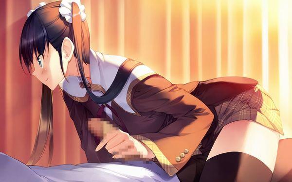 【まだイっちゃ駄目だよ?】チョイS女子に手コキして貰うのって楽しそうだなあ・・・って二次エロ画像 【15】