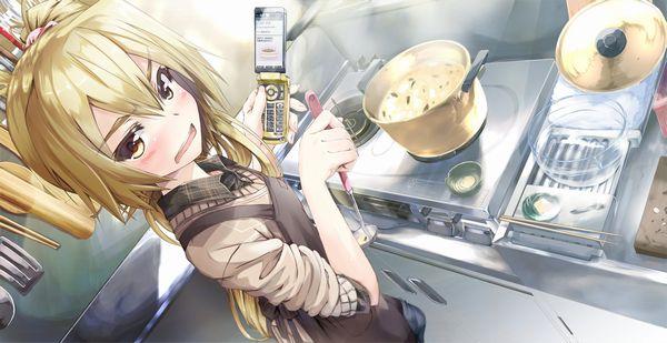 【料理は愛情】料理を作っている最中な女の子達の二次画像 【11】
