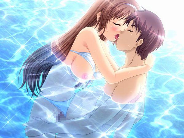 【海とかプールとか】水中でセックスしてる二次エロ画像 【14】
