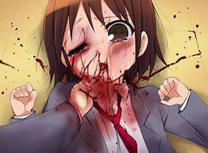 【男女平等パンチ】女の子が顔面ブン殴られてる二次リョナ画像