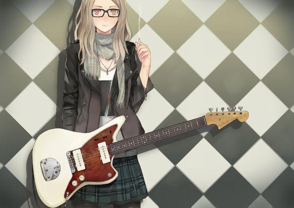 【ノリアキisリアル】ギターと女の子の二次画像 【2】