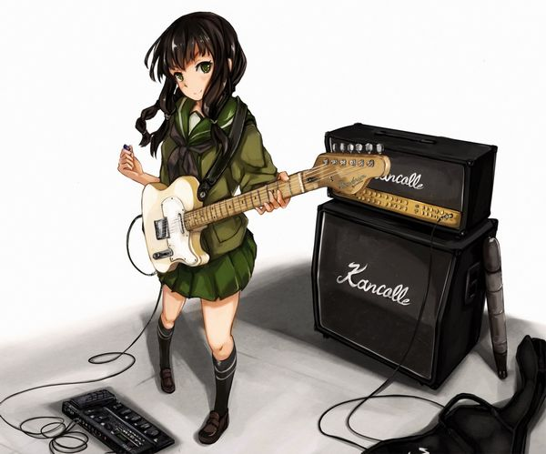 【ノリアキisリアル】ギターと女の子の二次画像 【4】