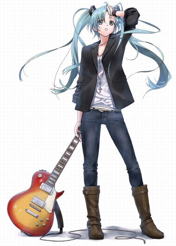 【ノリアキisリアル】ギターと女の子の二次画像 【24】