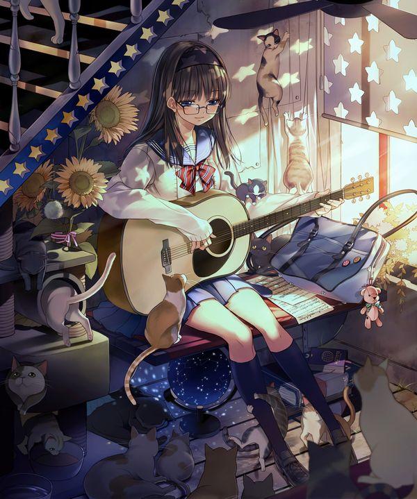 【ノリアキisリアル】ギターと女の子の二次画像 【26】