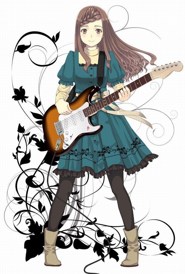 【ノリアキisリアル】ギターと女の子の二次画像 【38】