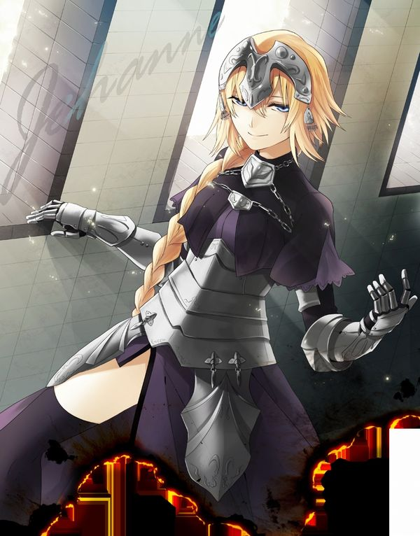 【Fate/Grand Order】ジャンヌ・ダルク(ルーラー)のエロ画像 【17】