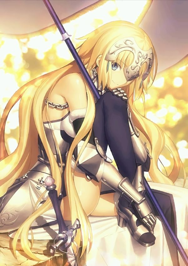 【Fate/Grand Order】ジャンヌ・ダルク(ルーラー)のエロ画像 【22】