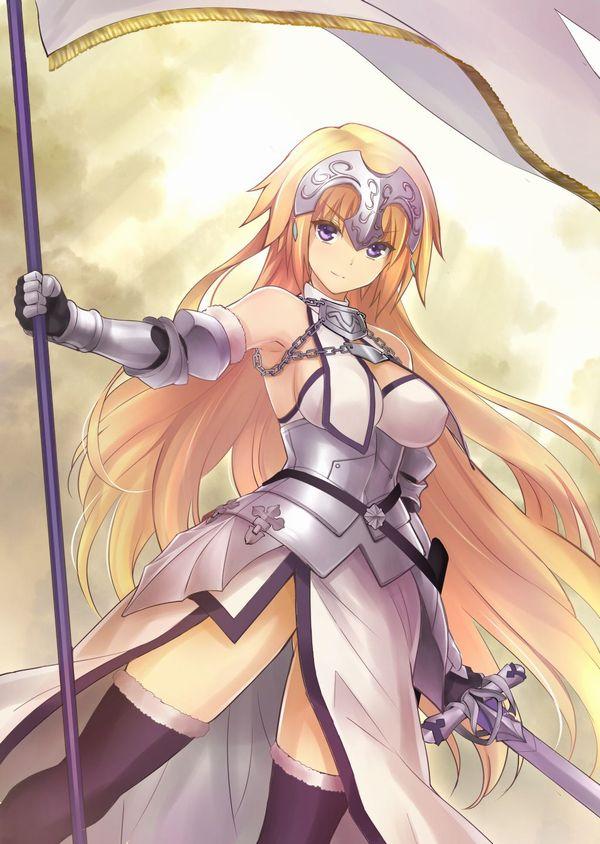 【Fate/Grand Order】ジャンヌ・ダルク(ルーラー)のエロ画像 【23】