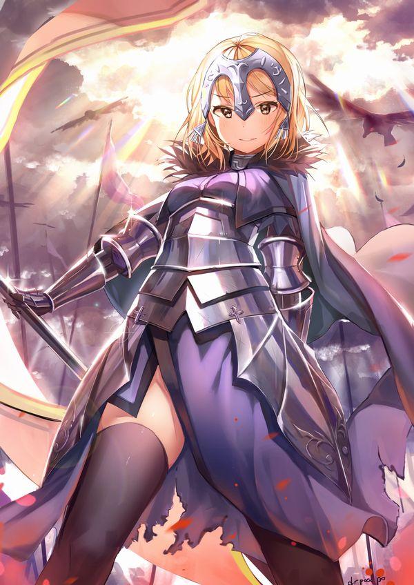 【Fate/Grand Order】ジャンヌ・ダルク(ルーラー)のエロ画像 【26】