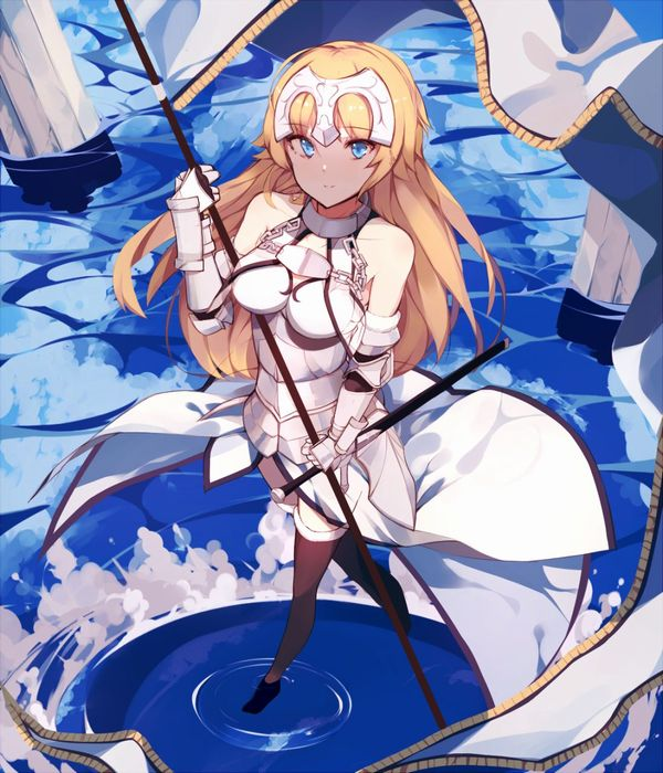 【Fate/Grand Order】ジャンヌ・ダルク(ルーラー)のエロ画像 【50】